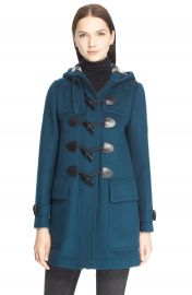 Burberry  Brit  Finsdale  Wool  Duffle  Coat at Nordstrom