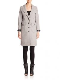 Burberry Brit - Steadleigh Wool andamp Cashmere Coat at Saks Fifth Avenue