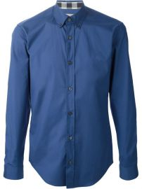 Burberry Brit Button-down Collar Shirt - Segreto at Farfetch