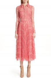 Burberry Clementine Floral Lace Midi Dress at Nordstrom