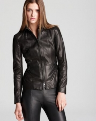Burberry London Leather Jacket - Nurton Lightweight at Bloomingdales