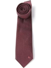 Burberry London Micro Dot Tie - at Farfetch