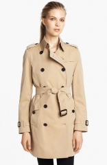 Burberry London and39Buckinghamand39 Double Breasted Cotton Trench at Nordstrom