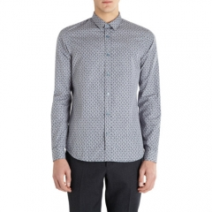 Burberry Prorsum Circle Foliage Print Slim Shirt at Barneys