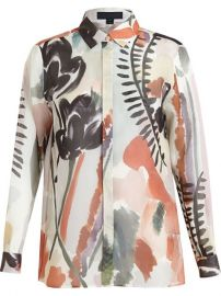 Burberry Prorsum Floral Print Shirt - Luisa World at Farfetch
