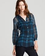 Burberry plaid shirt from Bloomingdales at Bloomingdales