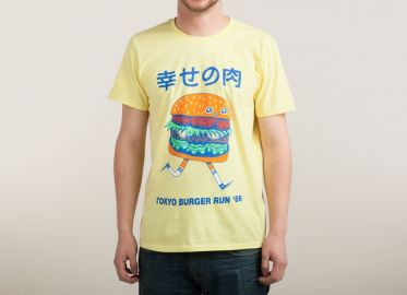 Burgerman tee at Threadless