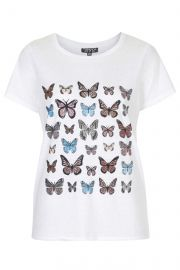 Butterfly Tee at Topshop