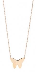 Butterfly necklace by Jennifer Zeuner at Shopbop
