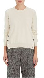 Button-Vent Cashmere Sweater by Barney\'s New York at Barneys