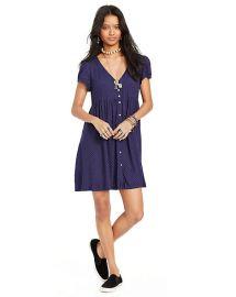 Button front dress in star print at Ralph Lauren