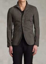 Button front jacket at John Varvatos