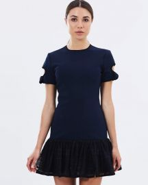 By Johnny The Belinda Tie Sleeve Tee Mini Dress at The Iconic