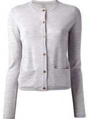 By Malene Birger Lurex Insert Cardigan - Genevieve at Farfetch
