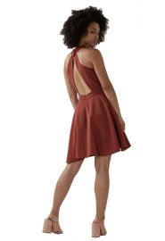C/Meo Collective Witness Dress in Marsala at Amazon