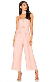 C MEO No Limit Jumpsuit in Rosewood from Revolve com at Revolve