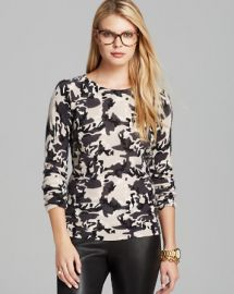C by Bloomingdaleand039s Camo Print Cashmere Sweater at Bloomingdales