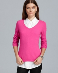 C by Bloomingdaleand039s Cashmere V Neck Sweater at Bloomingdales