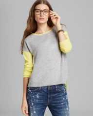 C by Bloomingdaleand039s Color Block HighLow Cashmere Sweater at Bloomingdales