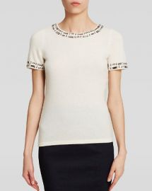 C by Bloomingdaleand039s Embellished Cashmere Sweater at Bloomingdales