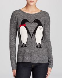 C by Bloomingdaleand039s Penguin Intarsia Cashmere Sweater at Bloomingdales