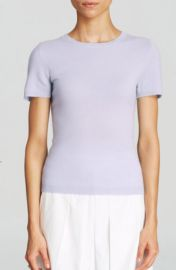 C by Bloomingdaleand039s Short Sleeve Cashmere Sweater in blue at Bloomingdales