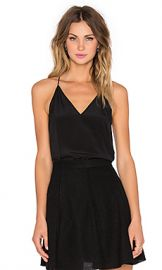 CAMI NYC The Madison Cami in Black at Revolve