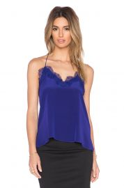 CAMI NYC The Racer Cami in Cobalt Blue at Revolve