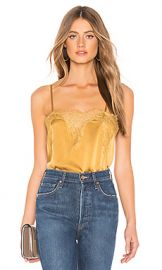 CAMI NYC The Sweetheart Charmeuse Cami in Gold from Revolve com at Revolve