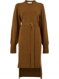 CHLOe KNIT BELTED DRESS -  at Farfetch
