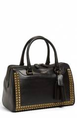 COACH and39Legacy Hayley - Studand39 Leather Satchel at Nordstrom