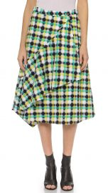 CREATURES OF THE WIND 2015 JACQUARD WRAP SKIRT at The Real Real