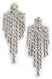 CRISTABELLE Crystal Drop Earrings at Nordstrom