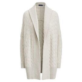 Cable Cashmere Shawl Cardigan by Polo Ralph Lauren at Ralph Lauren