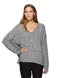 Cable V-Neck Sweater by Vince at Amazon