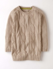Cable knit sweater at Boden