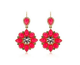 Cabochon Drop Earrings at Juicy Couture