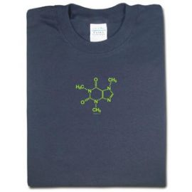 Caffeine Molecule Tee at Think Geek