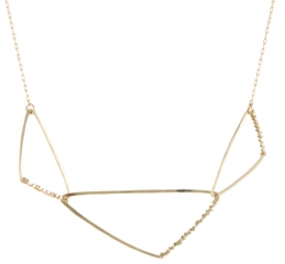 Calder Geo Necklace at Peggy Li