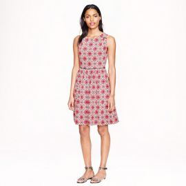 California Poppy Dress at J. Crew