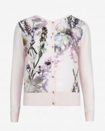 Calin Torchlit Floral Cardigan at Ted Baker
