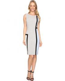 Calvin Klein Color Block Sheath Dress at Amazon