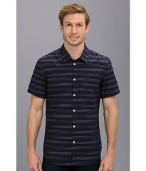 Calvin Klein Jeans SS Horizon Stripe Mw0305 Eternal Navy at 6pm