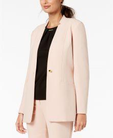 Calvin Klein One Button Blazer at Macys