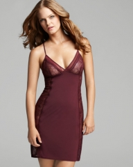 Calvin Klein Underwear Black Label Chemise in burgundy at Bloomingdales