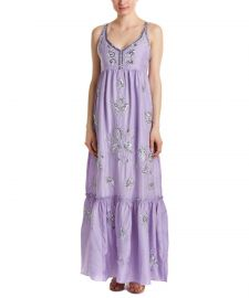 Calypso St. Barth Jomeri Silk Maxi Dress at Nordstrom Rack