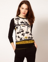 Cameo top by Ted Baker at Asos