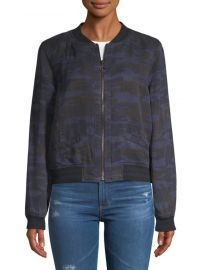Camo Bomber Jacket by Sanctuary at Saks Off 5th