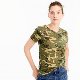 Camo T-shirt at J. Crew