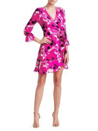 Camo Wrap Dress Tanya Taylor at Saks Fifth Avenue